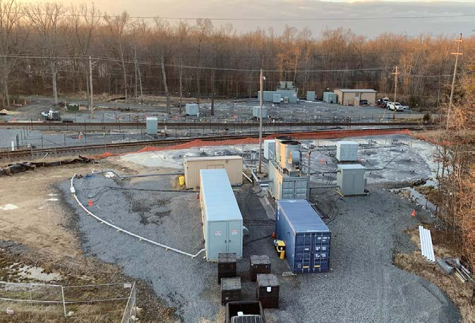 In Situ Thermal Remediation under Two Active Railroad Tracks